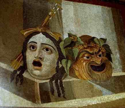 Risultati immagini per maschere pompei