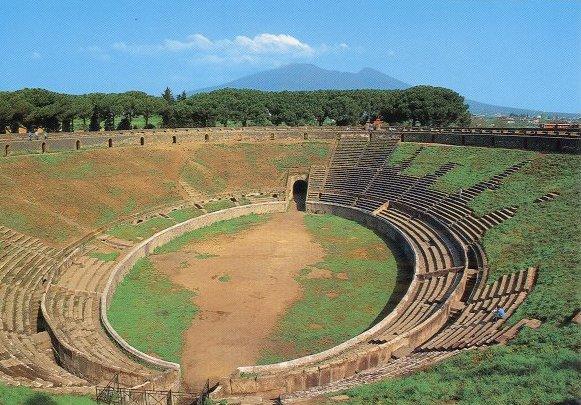 Teatri A Pompei