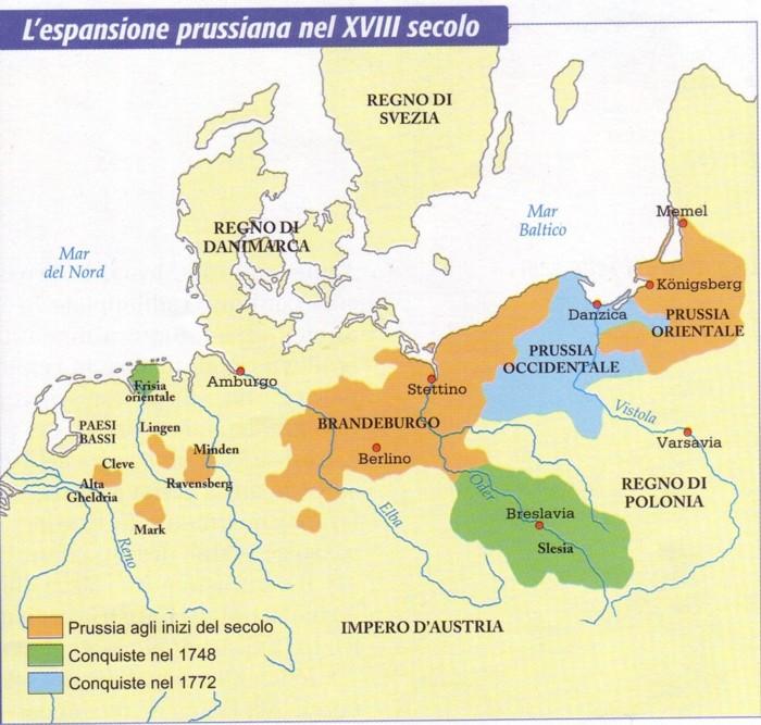 Cartina Europa 1700.Il Settecento Secolo Di Guerre